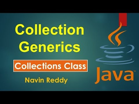 #11.4 Collection and Generics | Collections Class