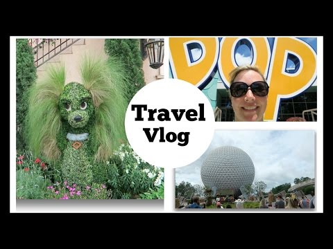 Pop Century and Epcot Flower and Garden Festival