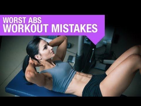 4 Worst Abs Workout Mistakes (AND TIPS FOR BETTER RESULTS!!)