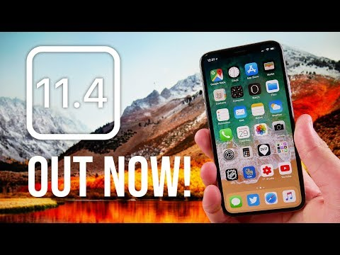 iOS 11.4 Finally Released! iMessage in iCloud, AirPlay 2 & More!