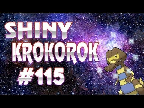 Live Shiny Krokorok Reaction - Road to Shiny Living Dex