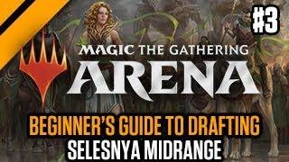 MTG: Arena - Beginner's Guide to Drafting - Selesnya Midrange P3 | GRN Quick Draft (sponsored)