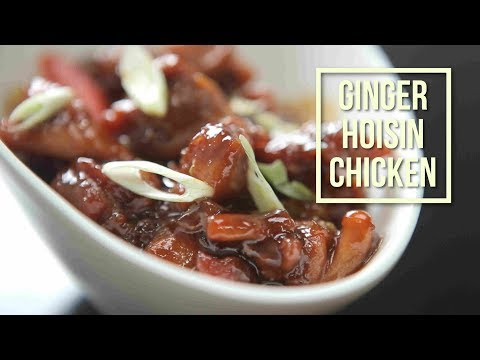 Insanely Flavorful and Easy Ginger Hoisin Chicken