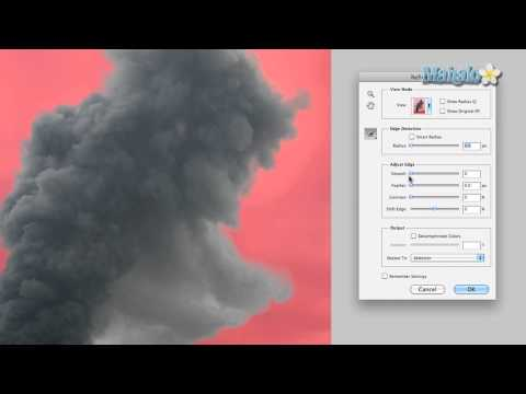 Photoshop Tutorial - Masking Smoke