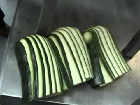PGW zucchini and eggplant length wise sliced