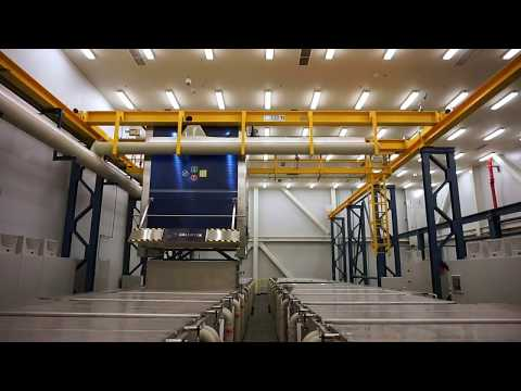 Galvatek - Cleaning Line for large aircraft engines (2015)