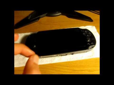 Applying PS Vita Screen Protector No Air Bubbles