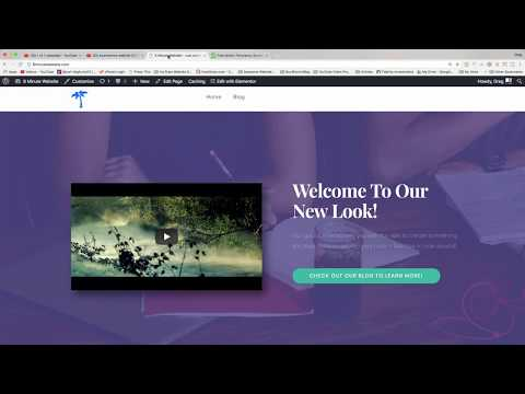 Change Background Image - OceapWP WordPress Theme