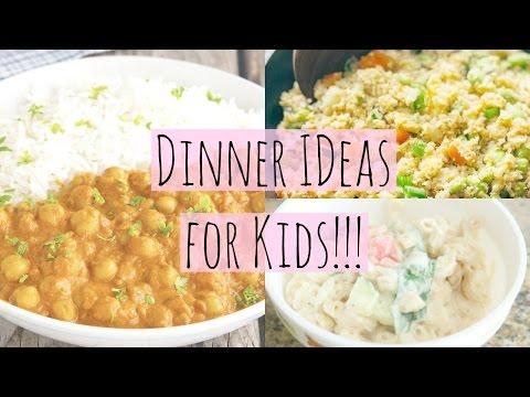 Easy Healthy Dinner Ideas for Kids!