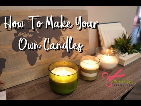 How To Make Your Own Soy Wax Candles | DIY Soy Wax Candle Making Kit | Ft. DIYGATEWAY |