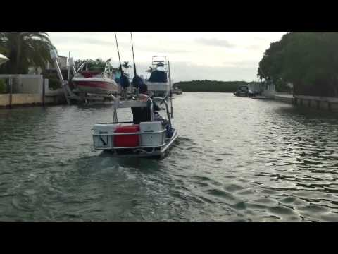 AWESOME WaveRunner FISHING RACK jetski