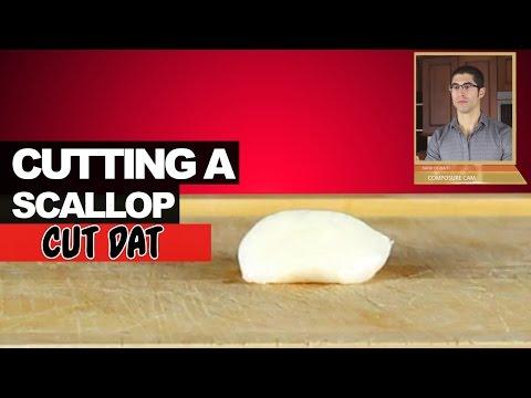 Cutting a Scallop