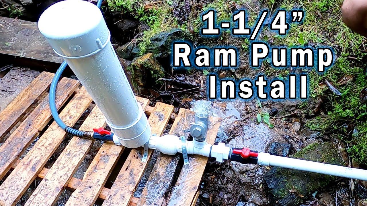 """Full Ram Pump Install 1-1/4"""""""