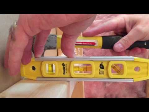 Part 3 - How To Frame A Shower Niche - Complete Bathroom Remodel