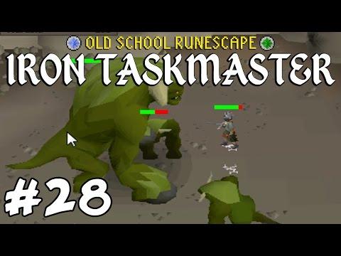 Old School RuneScape Ironman #28 - Slayer, Clues, Tithe Farm