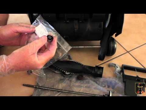 Hoover Vacuum Bearing and Shim Washer Replacement