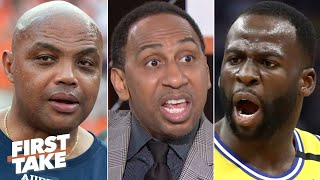 Stephen A. sounds off on the beef between Draymond Green and Charles Barkley | First Take