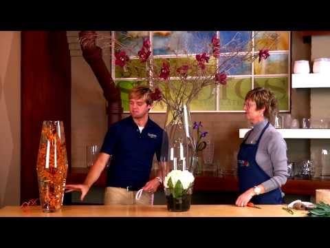 Create Large Floral Event Pieces with the Lexington Vase