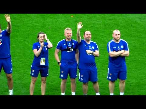 Chelsea Ladies Football Club   - F.A Cup Winners Trophy Presentation - Wembley Stadium 2018