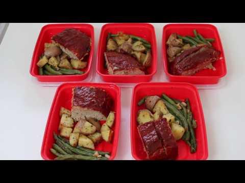 How I Meal Prep Turkey Meatloaf