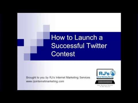 How to Launch a Successful Twitter Contest