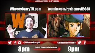 JillSandwich988 & WheresBarry Play Resident Evil 5! | Co-Op Scream Stream Play & Podcast
