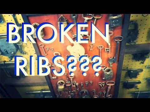 Broken Rib? Haircut & Lockpicks - VLOG