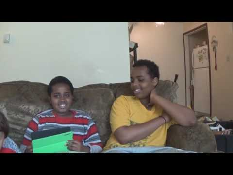 Two Young Somali Bilinguals