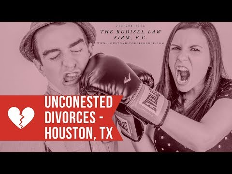 Uncontested v Contested Divorce: Divorce lawyers in Houston TX
