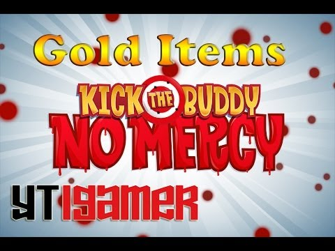 Kick the Buddy: No Mercy - Random Gold Items - Gameplay iOS iPhone