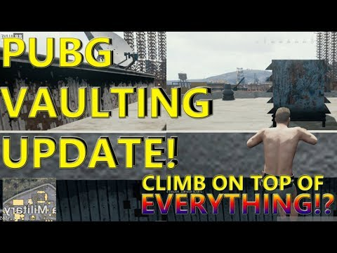 PUBG VAULTING UPDATE VIDEO | HOW IT CHANGES THE GAME