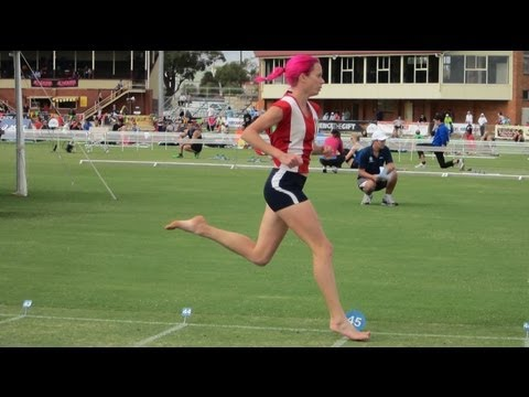 Observations on good running technique with Olympian Victoria Mitchell