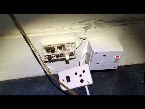THUNDERSTORMS Flood damage  Electrical  repair. England