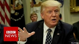 Trump defends