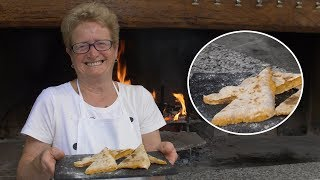 Pasta Grannies discovers tortelli alla lastra from Tuscany