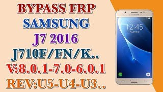 Samsung SM-J710F Imei Repair Without Lose The Network After