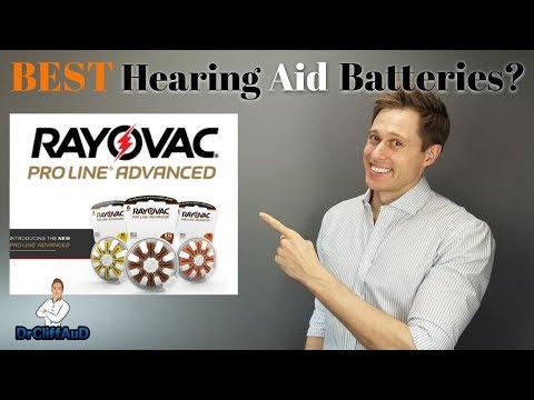 Best Hearing Aid Batteries On The Market? | NEW Rayovac ProLine Advanced!
