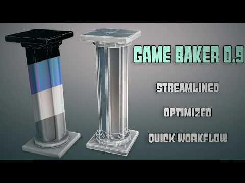 [Blender Addon]Game Baker 0.9 - introduction