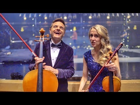Finally! A violin/cello bow with personality - The Piano Guys