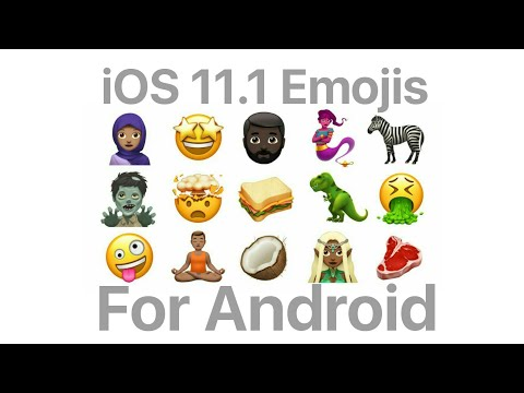 Get Latest iOS 11.1 Emojis On Your Android