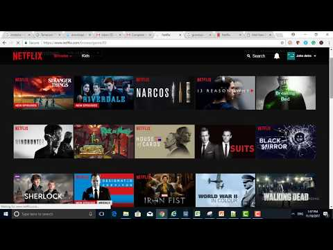 How to recover Netflix movies password, Username?