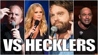 Famous Comedians VS. Hecklers (Part 1/4)