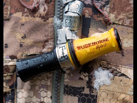 Work Horse Hybrid Goose Call by Field Proven Calls