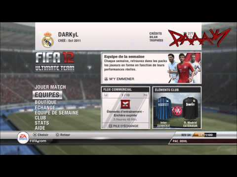 ❈ PAaKHD ❈ Ultimate Team FIFA 12 TUTORIAL | PART 1