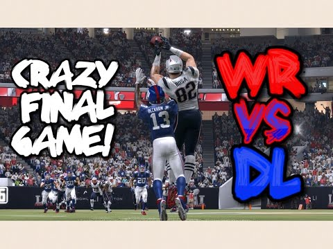 TEAM OF WIDE RECEIVERS vs TEAM OF DEFENSIVE LINEMEN!! Madden 17 Championship Game!