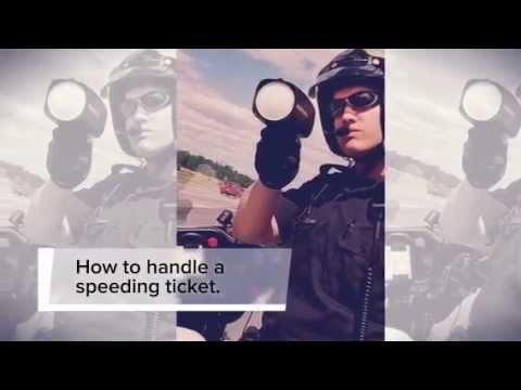 How to avoid points on your driving record. #Speeding