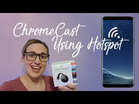 How to use ChromeCast without WiFi (2017)