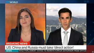 North Korea launches another missile - Joel Labi live on TRT World