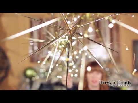 AMAZING Star Burst Christmas Ornaments