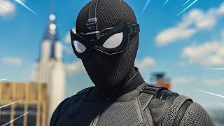 Download THE NEW FAR FROM HOME SUITS in Spider-Man PS4 Video